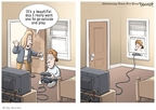 Cartoonist Clay Bennett  Clay Bennett's Editorial Cartoons 2009-10-22 game