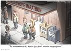Cartoonist Clay Bennett  Clay Bennett's Editorial Cartoons 2009-10-31 reality