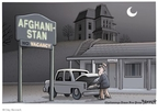 Cartoonist Clay Bennett  Clay Bennett's Editorial Cartoons 2009-11-01 election fraud