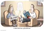 Cartoonist Clay Bennett  Clay Bennett's Editorial Cartoons 2009-11-18 Sarah Palin