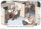 Cartoonist Clay Bennett  Clay Bennett's Editorial Cartoons 2009-11-21 fear