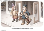 Cartoonist Clay Bennett  Clay Bennett's Editorial Cartoons 2010-01-07 food