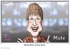 Cartoonist Clay Bennett  Clay Bennett's Editorial Cartoons 2010-01-17 Sarah Palin