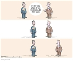 Cartoonist Clay Bennett  Clay Bennett's Editorial Cartoons 2010-02-11 bipartisan
