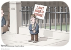 Cartoonist Clay Bennett  Clay Bennett's Editorial Cartoons 2010-02-24 1600 Pennsylvania Avenue