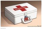 Cartoonist Clay Bennett  Clay Bennett's Editorial Cartoons 2010-03-17 partisanship