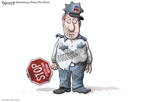 Cartoonist Clay Bennett  Clay Bennett's Editorial Cartoons 2010-03-23 partisanship