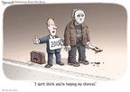 Cartoonist Clay Bennett  Clay Bennett's Editorial Cartoons 2010-03-24 member