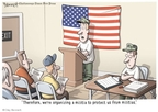 Cartoonist Clay Bennett  Clay Bennett's Editorial Cartoons 2010-04-15 activist
