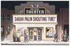Cartoonist Clay Bennett  Clay Bennett's Editorial Cartoons 2010-04-18 Sarah Palin