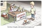 Cartoonist Clay Bennett  Clay Bennett's Editorial Cartoons 2010-07-27 summer