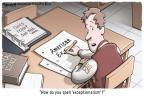 Cartoonist Clay Bennett  Clay Bennett's Editorial Cartoons 2011-01-28 science