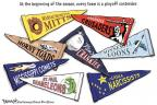 Cartoonist Clay Bennett  Clay Bennett's Editorial Cartoons 2011-04-02 every
