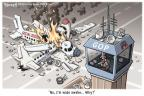 Cartoonist Clay Bennett  Clay Bennett's Editorial Cartoons 2011-04-20 Federal government