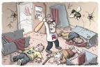 Cartoonist Clay Bennett  Clay Bennett's Editorial Cartoons 2011-06-16 baseball cap
