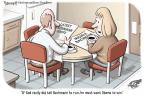 Clay Bennett  Clay Bennett's Editorial Cartoons 2011-08-30 2012 election religion