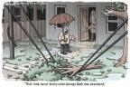 Cartoonist Clay Bennett  Clay Bennett's Editorial Cartoons 2011-09-07 broke