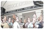Cartoonist Clay Bennett  Clay Bennett's Editorial Cartoons 2011-10-03 angry