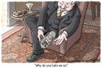 Cartoonist Clay Bennett  Clay Bennett's Editorial Cartoons 2011-10-20 economy