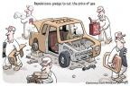 Cartoonist Clay Bennett  Clay Bennett's Editorial Cartoons 2012-03-16 $2.50