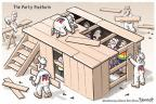 Cartoonist Clay Bennett  Clay Bennett's Editorial Cartoons 2012-08-24 elderly