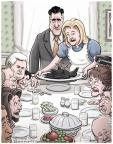 Cartoonist Clay Bennett  Clay Bennett's Editorial Cartoons 2012-11-21 Romney Ryan