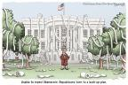 Cartoonist Clay Bennett  Clay Bennett's Editorial Cartoons 2013-10-10 impasse