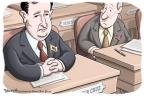 Cartoonist Clay Bennett  Clay Bennett's Editorial Cartoons 2013-10-14 procedure