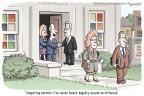 Cartoonist Clay Bennett  Clay Bennett's Editorial Cartoons 2013-11-19 man