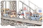 Cartoonist Clay Bennett  Clay Bennett's Editorial Cartoons 2014-01-09 2016 Election Chris Christie