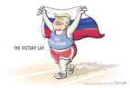 Cartoonist Clay Bennett  Clay Bennett's Editorial Cartoons 2019-03-29 United States and Russia