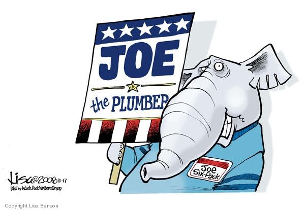 Joe the Plumber. Joe Six-Pack.
