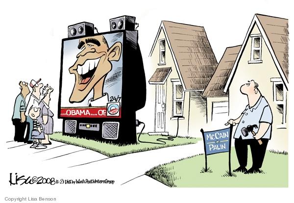 Lisa Benson  Lisa Benson's Editorial Cartoons 2008-10-21 2008 election