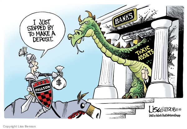 Cartoonist Lisa Benson  Lisa Benson's Editorial Cartoons 2008-11-19 oversight