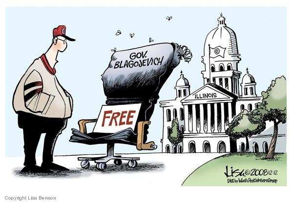 Lisa Benson  Lisa Benson's Editorial Cartoons 2008-12-12 corruption