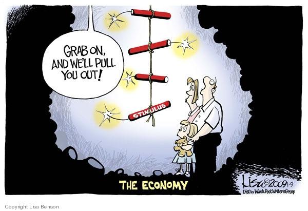 Cartoonist Lisa Benson  Lisa Benson's Editorial Cartoons 2009-01-09 recession