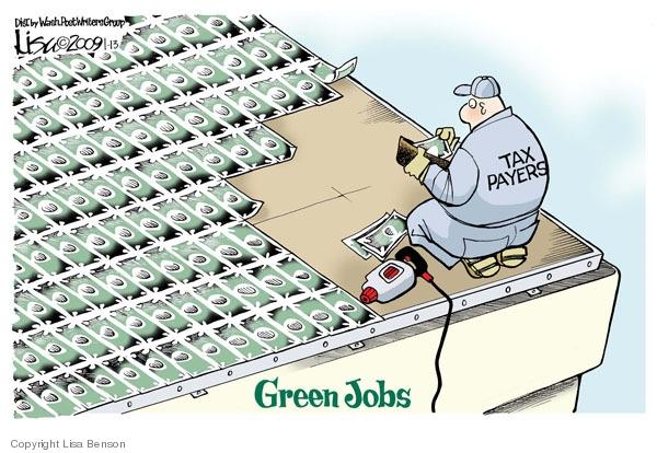 Cartoonist Lisa Benson  Lisa Benson's Editorial Cartoons 2009-01-13 recession