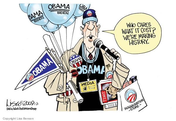 Cartoonist Lisa Benson  Lisa Benson's Editorial Cartoons 2009-01-21 economic downturn