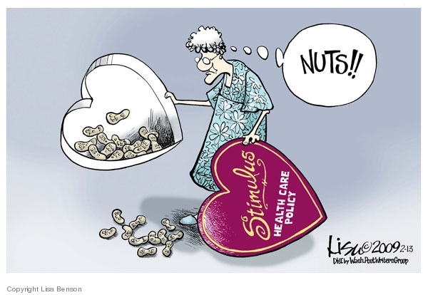 Lisa Benson  Lisa Benson's Editorial Cartoons 2009-02-13 Valentine's Day