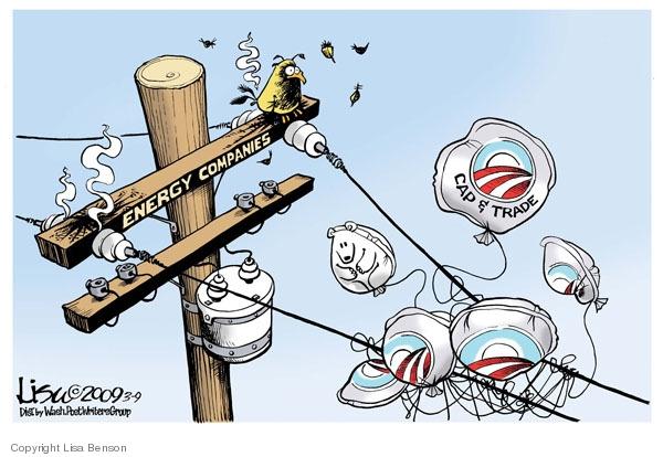 Energy companies. Cap & trade.