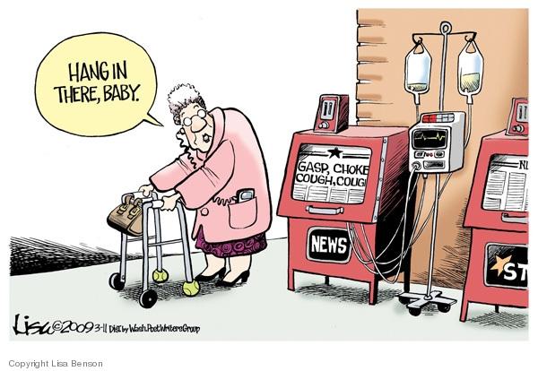 Cartoonist Lisa Benson  Lisa Benson's Editorial Cartoons 2009-03-11 downturn