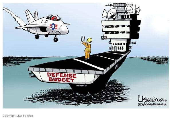 Defense budget.