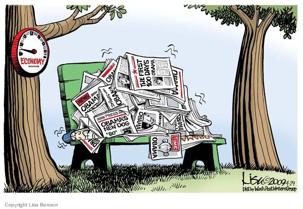 Lisa Benson  Lisa Benson's Editorial Cartoons 2009-04-29 homeless