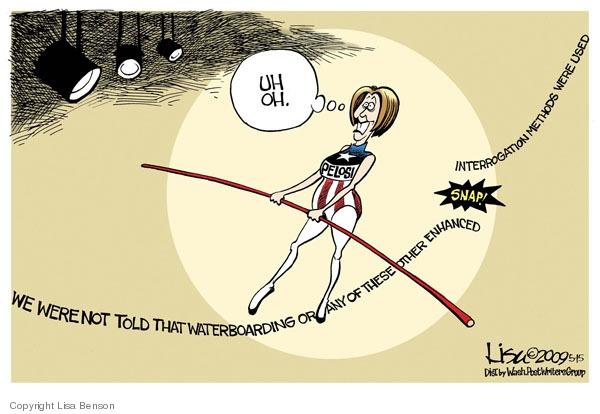 Lisa Benson  Lisa Benson's Editorial Cartoons 2009-05-15 walk
