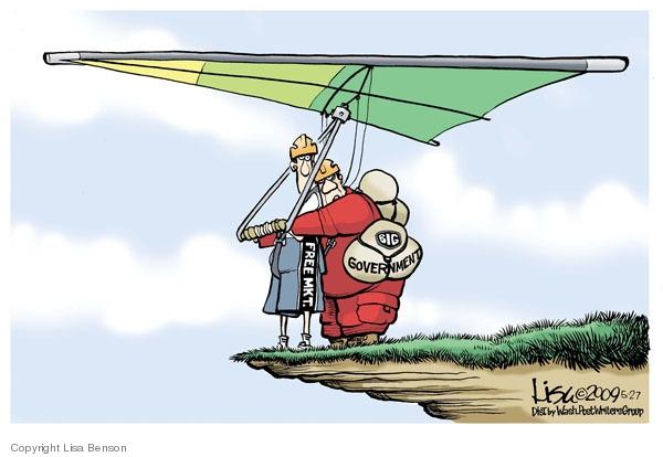 Cartoonist Lisa Benson  Lisa Benson's Editorial Cartoons 2009-05-27 oversight