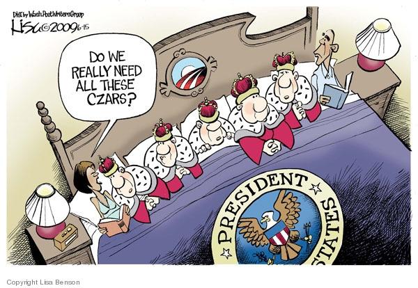 Cartoonist Lisa Benson  Lisa Benson's Editorial Cartoons 2009-06-14 oversight