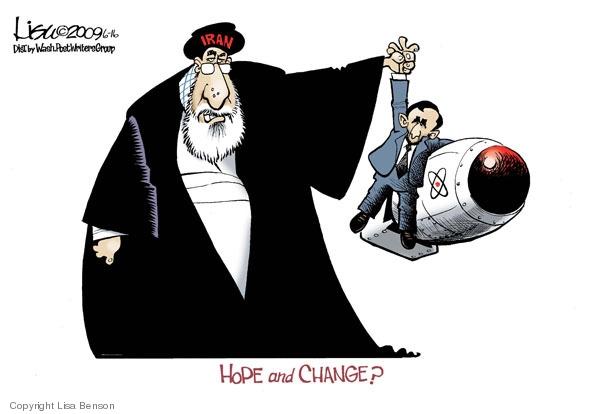 Hope and change? Iran.