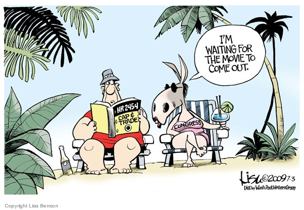 Cartoonist Lisa Benson  Lisa Benson's Editorial Cartoons 2009-07-03 cap