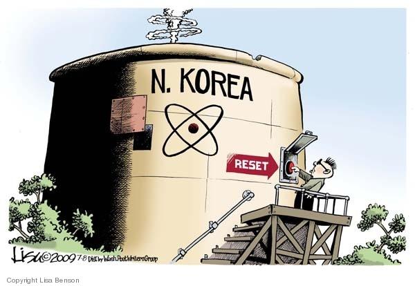 N. Korea.  Reset.