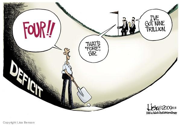 Lisa Benson  Lisa Benson's Editorial Cartoons 2009-08-31 federal budget